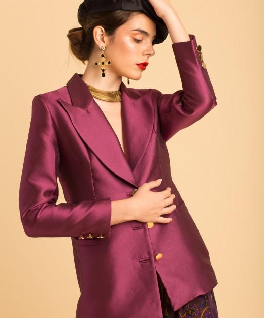 carol satin purple lpm